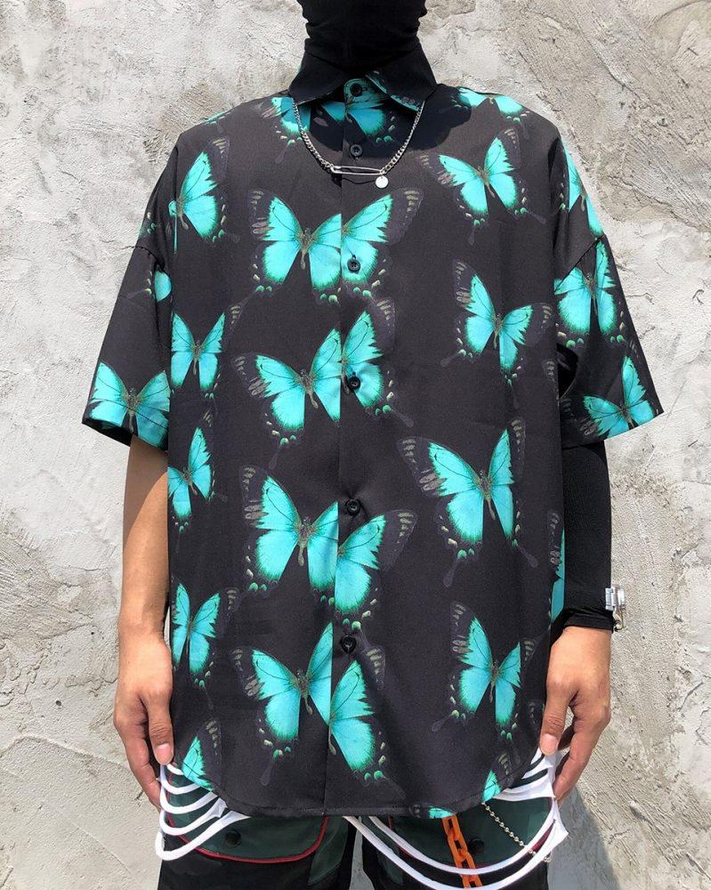 バタフライスウォームシャツの画像1